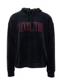 John Varvatos Revolution hoodie black KG4415V2B BPU21B 001 BLACK order online