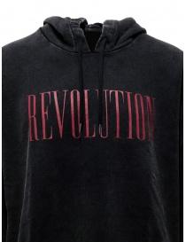 John Varvatos Revolution hoodie black mens knitwear buy online