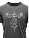 John Varvatos winged skull T-shirt grey shop online mens t shirts