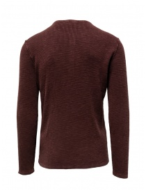 John Varvatos Nashville waffle henley red sweater-shirt mens knitwear buy online