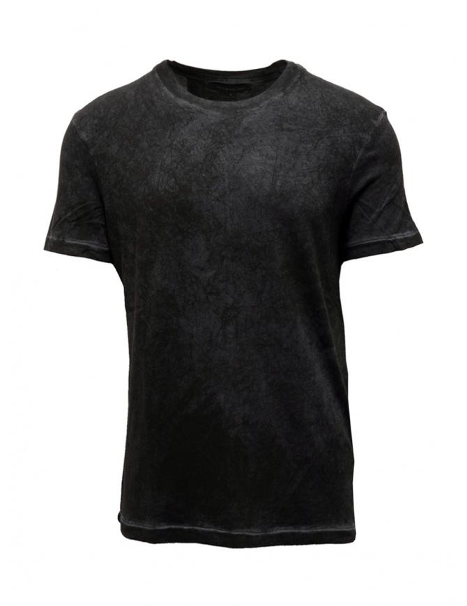 John Varvatos Hillsboro grey T-shirt K4507V3B BSU21B 064 NICKEL mens t shirts online shopping