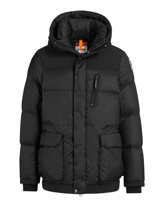 Parajumpers giacca Seiji nera con cappuccio PMJCKEN02 SEIJI PENCIL 710 giubbini uomo online shopping