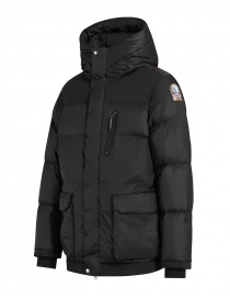 Parajumpers Seiji black hooded jacket