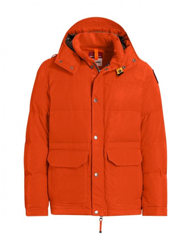 Parajumpers giacca Berkeley arancione PMJCKOS02 BERKELEY CARROT 729 giubbini uomo online shopping
