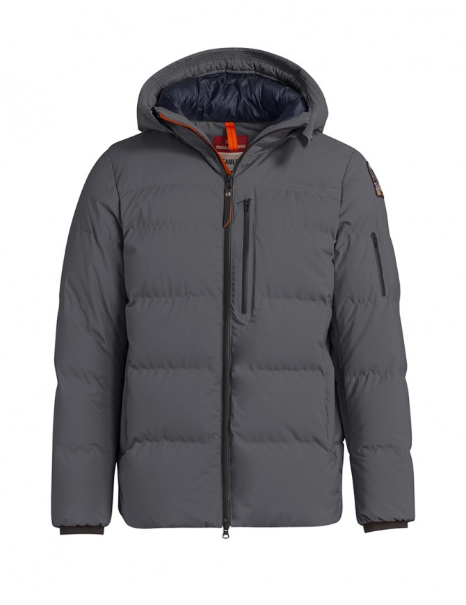 Parajumpers Kanya iron grey down jacket PMJCKSS01 KANYA NINE IRON 765 mens jackets online shopping