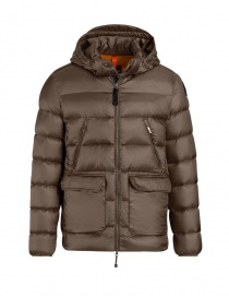 Parajumpers Greg down jacket brown PMJCKSX04 GREG BARK 576