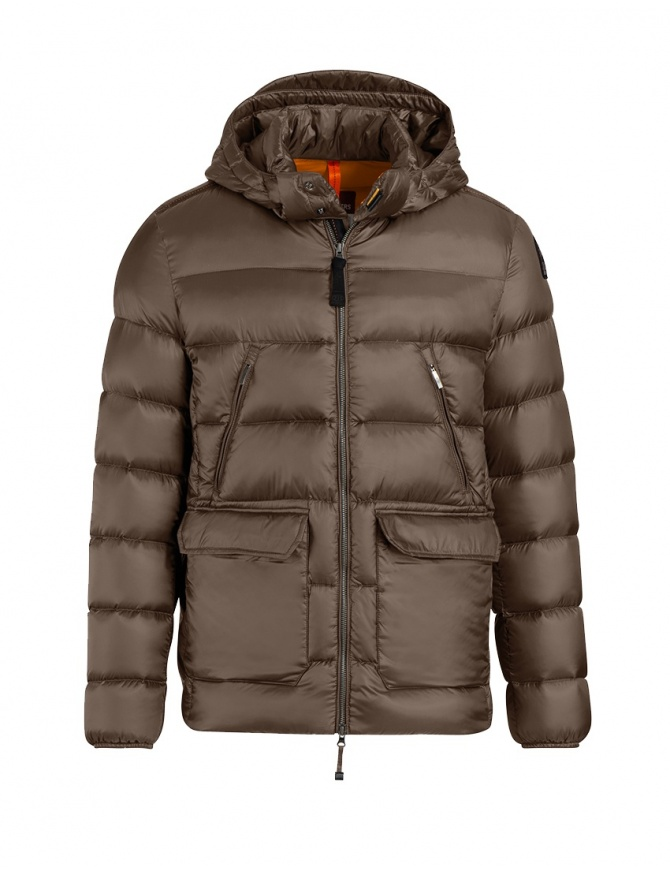 Parajumpers Greg down jacket brown PMJCKSX04 GREG BARK 576 mens jackets online shopping