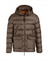 Parajumpers Greg down jacket brown buy online PMJCKSX04 GREG BARK 576