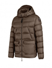 Parajumpers Greg down jacket brown buy online