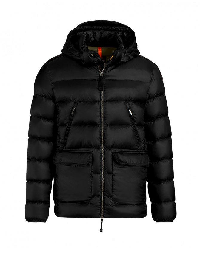 Parajumpers Greg down jacket black PMJCKSX04 GREG BLACK 541 mens jackets online shopping