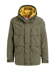 Parajumpers Alpha military green and yellow jacket online