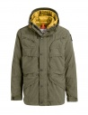 Parajumpers giaccone Alpha verde militare e giallo acquista online PMJCKTP01 MILITARY 759