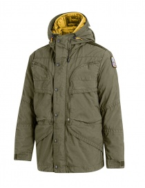 Parajumpers Alpha military green and yellow jacket