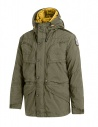 Parajumpers Alpha military green and yellow jacket shop online mens jackets