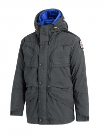 Parajumpers Alpha iron grey and blue jacket