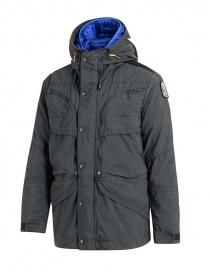 Parajumpers giaccone Alpha grigio ferro e blu