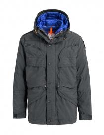 Giubbini uomo online: Parajumpers giaccone Alpha grigio ferro e blu