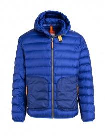 Parajumpers giaccone Alpha grigio ferro e blu giubbini uomo acquista online