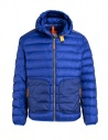 Parajumpers Alpha iron grey and blue jacket PMJCKTP01 NINE IRON 765 buy online