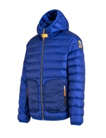 Parajumpers Alpha iron grey and blue jacket mens jackets price