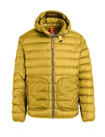 Parajumpers Alpha military green and yellow jacket mens jackets buy online