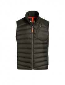 Mens jackets online: Parajumpers Zavier padded vest sycamore