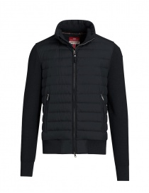 Parajumpers Scow knitted puffer jacket black pencil online