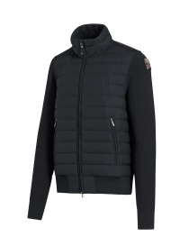 Parajumpers Scow knitted puffer jacket black pencil