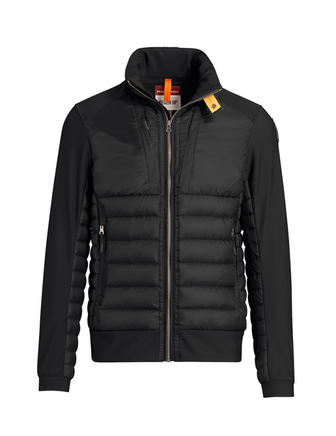 Parajumpers Shiki jacket with smooth sleeves black PMJCKKU01 SHIKI BLACK 541 mens jackets online shopping