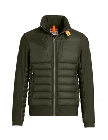 Mens jackets online: Parajumpers Shiki jacket smooth sleeves sycamore