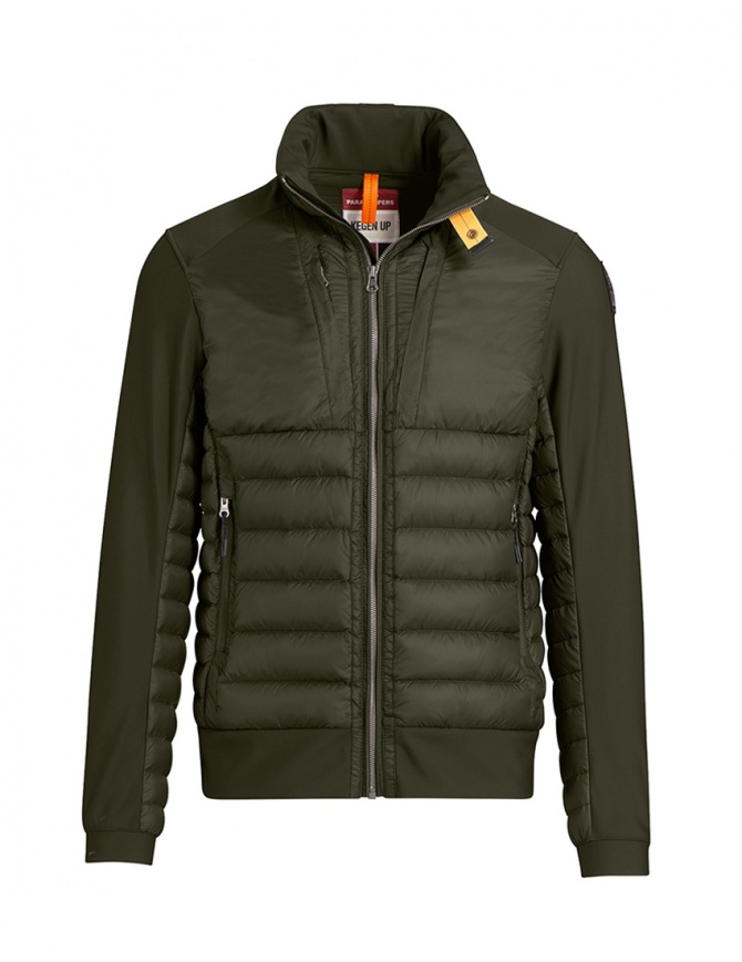 Parajumpers Shiki jacket smooth sleeves sycamore PMJCKKU01 SYCAMORE 764 mens jackets online shopping