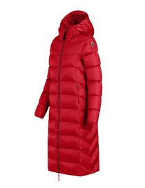 Parajumpers Leah Tomato long down coat for women