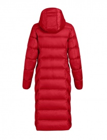 Parajumpers Leah Tomato long down coat for women price