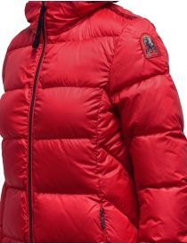Parajumpers Leah Tomato long down coat for women womens coats buy online