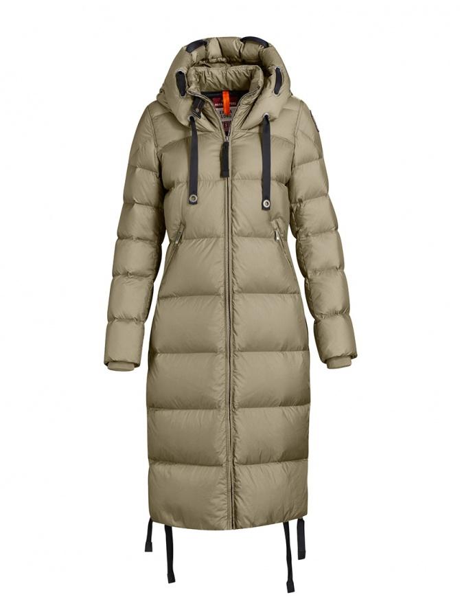 Parajumpers Panda long down coat light green PWJCKEL31 PANDA DRIED HERB 713 womens jackets online shopping