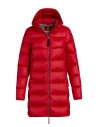 Parajumpers Marion medium down jacket tomato buy online PMJCKSX34 MARION TOMATO 722