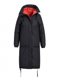Parajumpers cappotto imbottito Sleeping nero-rosso online