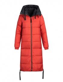 Parajumpers cappotto imbottito Sleeping nero-rosso giubbini donna acquista online