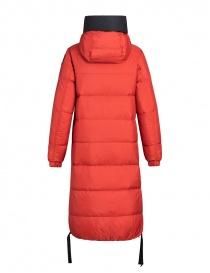 Parajumpers cappotto imbottito Sleeping nero-rosso giubbini donna prezzo