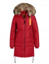 Parajumpers giacca Long Bear rosso scarlatto acquista online PWJCKMA33 LONG BEAR SCARLET723