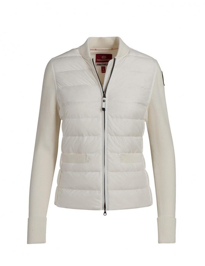 Parajumpers Nariida bomber jacket white PWKNIKN35 NARIIDA OFF-WHT 505 womens jackets online shopping