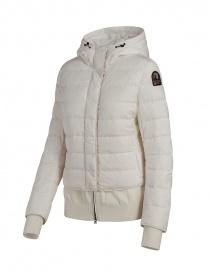 Parajumpers piumino Oceanis con inserti in lana bianco