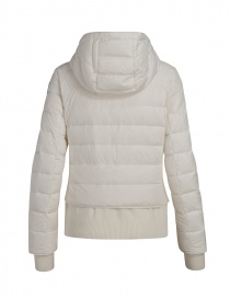 Parajumpers Oceanis down jacket with wool inserts white price