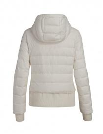 Parajumpers piumino Oceanis con inserti in lana bianco prezzo