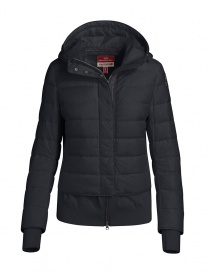Parajumpers Oceanis black puffer jacket with wool inserts online