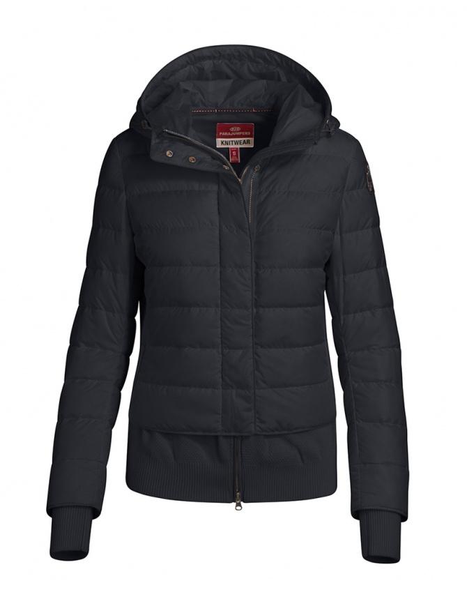 Parajumpers piumino Oceanis con inserti in lana nero PWKNIKN36 OCEANIS 411 PENCIL giubbini donna online shopping