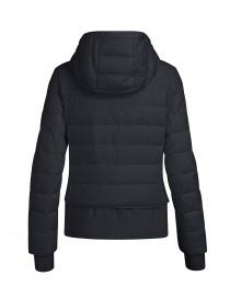 Parajumpers piumino Oceanis con inserti in lana nero prezzo
