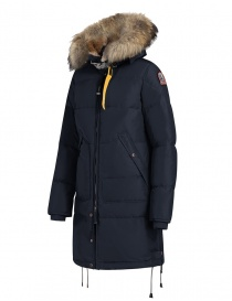 Parajumpers Long Bear navy blue jacket