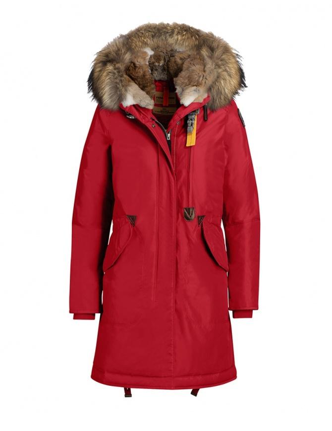 Parajumpers Tank hooded parka scarlet PWJCKMA37 TANK SCARLET 723 womens jackets online shopping
