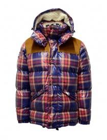 Mens jackets online: Napapijri men's puffer jacket Antero check